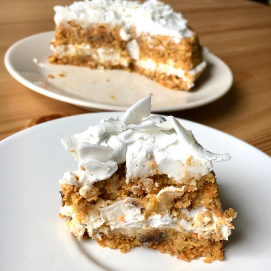 Ciasto marchewkowe RAW