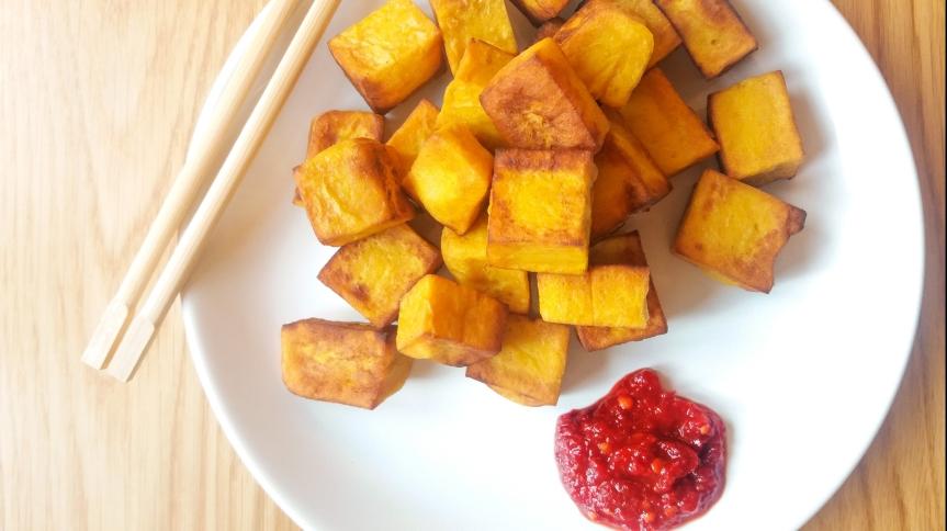 """BIRMAŃSKIE TOFU, czyli """"tofu"""" z…ciecierzycy"""