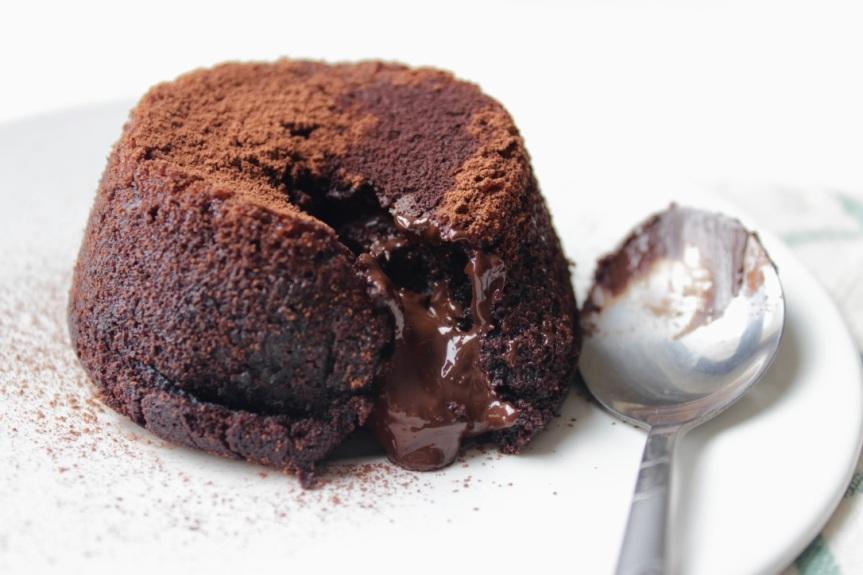 Czekoladowe lava cake