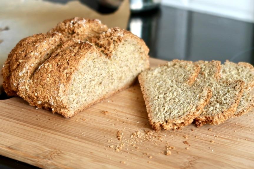 Irlandzki chleb na sodzie zkozieradką