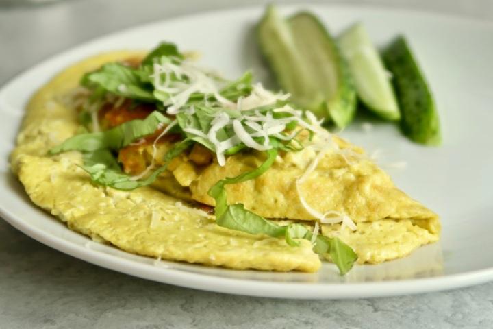 omlet-weganski