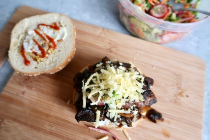 burger-portobello